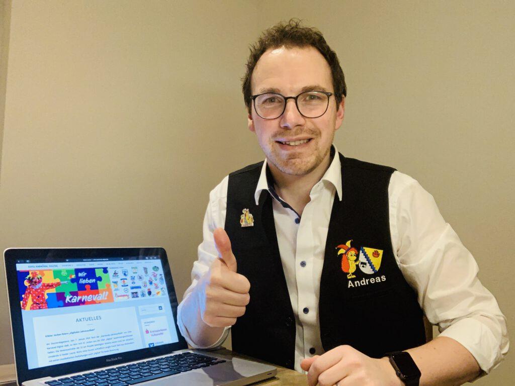 Andreas Bauer ist im Orga-Team von EKD u.a. für den Videoschnitt zuständig. Foto: privat