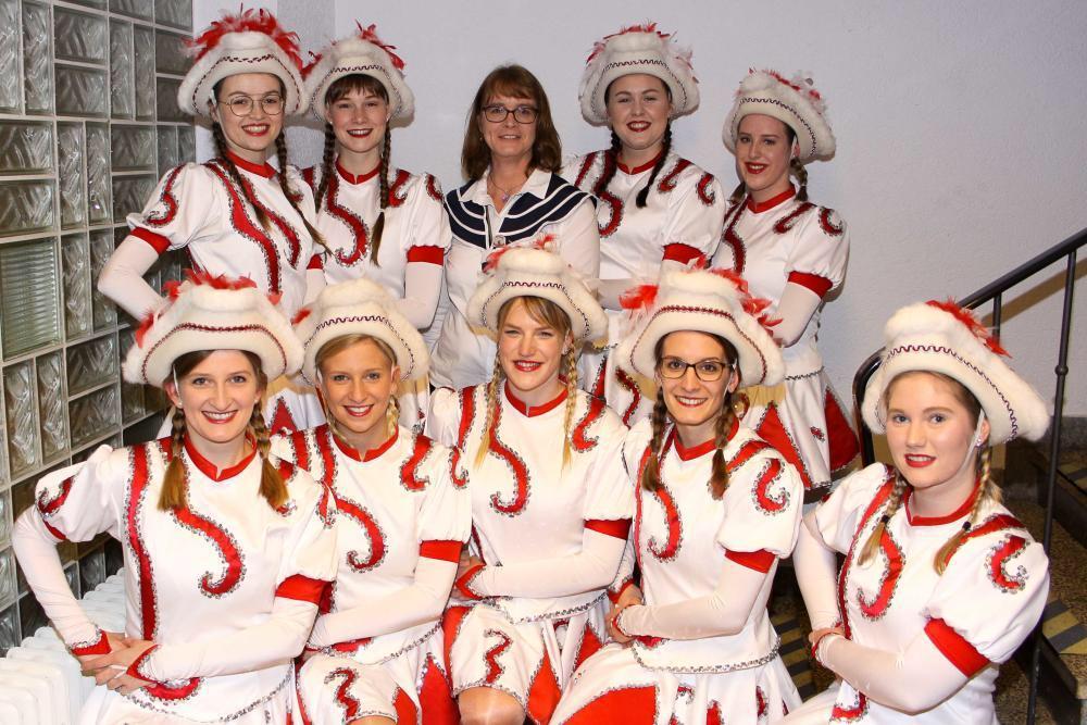 Die Garde des Vereins. Foto: Verein