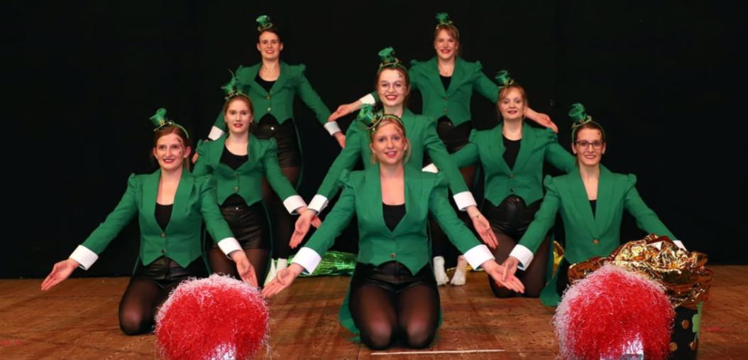 Die Showtanzgruppe. Foto: Verein