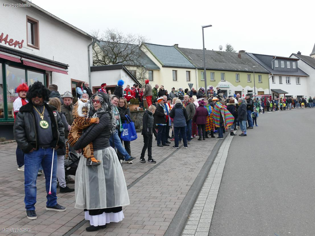 Der Karnevalsumzug in Dockweiler ist immer gut besucht. Foto: Verein